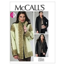 McCall's Patterns M6456 Misses' Reversible and Lined Jackets, Size Y (XSM-SML-ME - $11.76