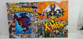 Marvel Comics Look & 2012 Find The Amazing Spiderman Book & 1992 X-MEN - $9.90