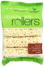 Bamboo Lane Crunchy Rice Rollers, 3.5 Ounce Pack of 4