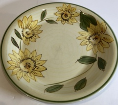 "Gibson Designs Yellow Sunflowers 4 Pc. Dinner Plates 10 5/8"" D - $44.54"