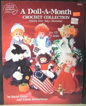 American School of Needework A Doll A Month Crochet Collection Vol. 2 Ju... - $12.95
