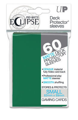 Ultra PRO Matte ECLIPSE Forest Green Small Deck Protector Sleeves 60ct ULP85831