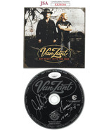 Johnny & Donnie Van Zant dual signed 2005 Get Right With The Man Album CD w/ Cov - $125.95
