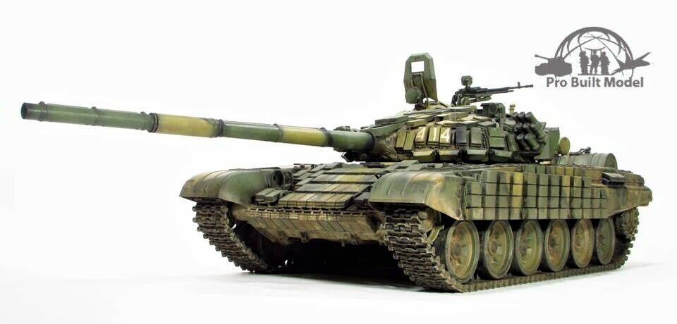 Primary image for Russian T-72B1 MBT 1:16 Pro Built Model