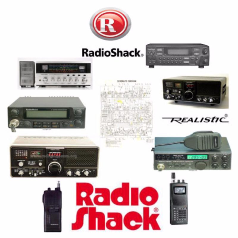 Radio Shack Realistic HTX-100 Service Manual * PDF * CDROM