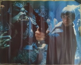 """Star Wars - Hans Solo 1983 Lucasfilm Collectible Poster 21.5"""" x 17"""" - $4.94"""