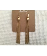New Max & Zoe Goldtone Dangle Earrings - $16.82