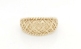 14k Yellow Gold Vintage Women's Milgrain Design Ring - $303.88