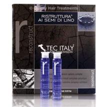 Tec Italy Recunstruct Hair Treatment Al Semi Di Lino  0.33oz 12 Count Am... - $26.00