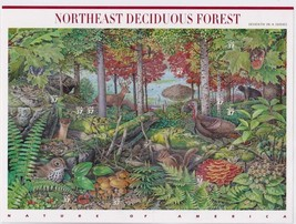 Beautifully USA 2005 SC#3899, Northeast Deciduous Forest , Stamps MNH VF... - $14.36