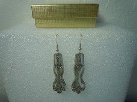 International Inspration aka Magnolia 1951 Earrings Silverplate - $44.54