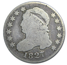 1827 Capped Bust Silver Dime 10¢ Coin Lot# A 200