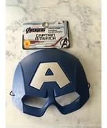 Childrens Halloween Mask, Captain America, Marvel, Avengers, New, 6+ - $9.99