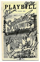 Superior Donuts 14 Cast Signed Playbill Michael McKean Jane Aldeman Kate Buddeke - $134.90