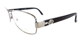 GUCCI Frame Glasses GG2893 Stainless Steel RuthBlack 54-16-135 MADE IN I... - $195.00