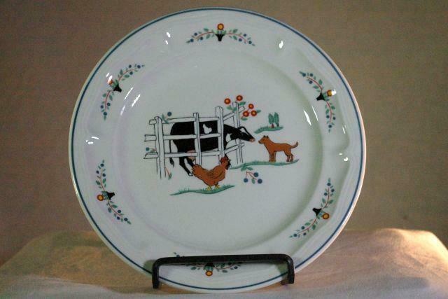 "Oneida Farm Friends 7 5/8"" Salad Plate - $4.49"