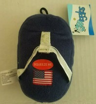 Grriggles Squeak Plush Patriotic Pooch Flip-Flops Dog/Pup/Cat Toy - £2.48 GBP