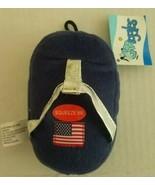 Grriggles Squeak Plush Patriotic Pooch Flip-Flops Dog/Pup/Cat Toy - $3.47
