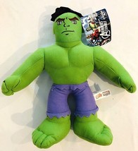 "Marvel  Avengers Assemble The Hulk  Stuffed Plush Toy 13"" New With Tags - $13.99"