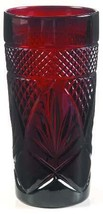 Cooler Goblet Antique Red by CRISTAL D'ARQUES-DURAND  Crystal Design Tab... - $17.99