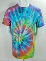 IZOD Mens Multi Color Tie Dye Cotton Short Sleeve Casual Hippie T Shirt ... - $19.95