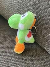 Nintendo super Mario brothers yoshi plush Keychain Japanese import mini vtg - $12.86