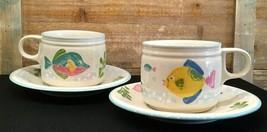 Studio Nova Barrier Reef Flat Cup & Saucer Set of 2  - $16.99