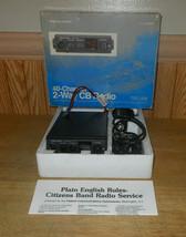 Realistic TRC-479 40 Channel 2-Way CB Radio - $34.28