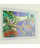 1994 Chaos Effect Comic Checklist Card Valiant Comics Effect alpha & omega - $15.50