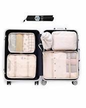 NEW Luggage Packing Organizer 7pcs Mix Storage Bags Space Saver Cubes Set - $705,86 MXN