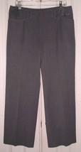 ST. JOHN SPORT by MARIE GRAY WOMEN'S FASHION FIT DRESS PANTS GRAY SIZE 12  - $29.99
