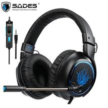 SADES R5 Casque PS4 Headset Gamer Wired Stereo Gaming Headphones with Mi... - $57.98+