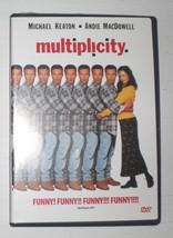 Multiplicity with Michael Keaton & Andie MacDowell - dvd - $3.23