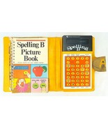 Texas Instruments Spelling B Handheld Electronic Game w Picture Book and... - $18.69