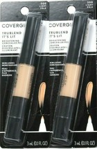 2 Count Covergirl 0.1 Oz Trublend It's Lit 200 Light Brightening Concealer Pen - $18.99