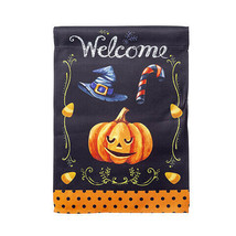 Darice Welcome Pumpkin Garden Flag: 12 x 18 inches w - $8.99