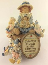 """1997 The San Francisco Music Box Company Heart Tugs """"Collecting Friends"""" - $24.99"""