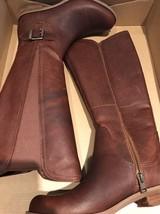 Timberland Women's Savin Hill All Fit Tall Brown Boots 7 NIB T4 - $206.72 CAD
