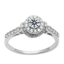 Amazing !! Cubic Zirconia 925 Sterling Silver Ring Jewelry SHRI1597 - $18.94