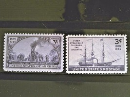 United State  Set of 2 Stamps MINT -Transportation.- MNH Free Shipping #... - $1.68