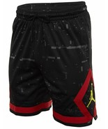 NWT Large Nike Jordan Sportswear Last Shot Diamond Shorts Black Gym Red ... - $69.18