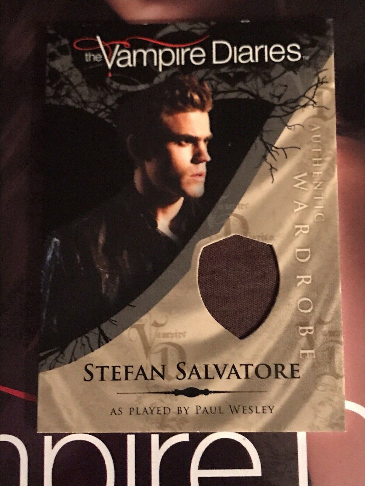 Primary image for Vampire Diaries Season 1 Wardrobe Card M1 Paul Wesley as Stefan Salvatore