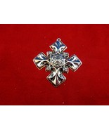 Antique 1976 Reed & Barton Christmas Cross Ornament  (#4515) - $49.00