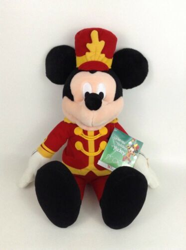 "Primary image for Macys Strike Up the Holidays with Mickey Singing 21"" Plush Stuffed Toy with Tags"