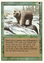 Magic: The Gathering 3rd Edition - Grizzly Bears - $0.25