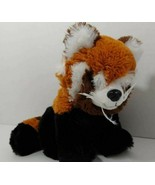 Red Panda Plush black orange brown striped tail ABC Bakers Girl Scouts s... - $6.92