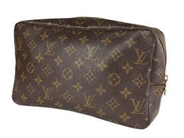 LOUIS VUITTON TROUSSE TOILETTE 28 Monogram Canvas Cosmetic Pouch Bag LP4112 - $279.00