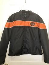 Harley Davidson Vance Leathers Medium Motorcycle Jacket Pre-Owned Nylon ... - $133.65