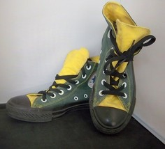 """CONVERSE - Adult """"Packers"""" high-top canvas sneakers - M-4.5 W-6.5 - $22.99"""