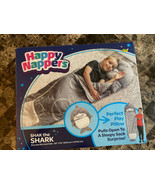 Happy Nappers - Shak The Shark Pillow and Sleeping Bag - Gray/White/Black - $39.59